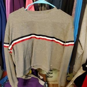Hollister crop sweater